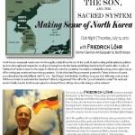 North Korea lecture promo